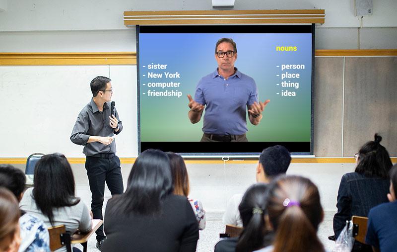 teaching eld online in classroom